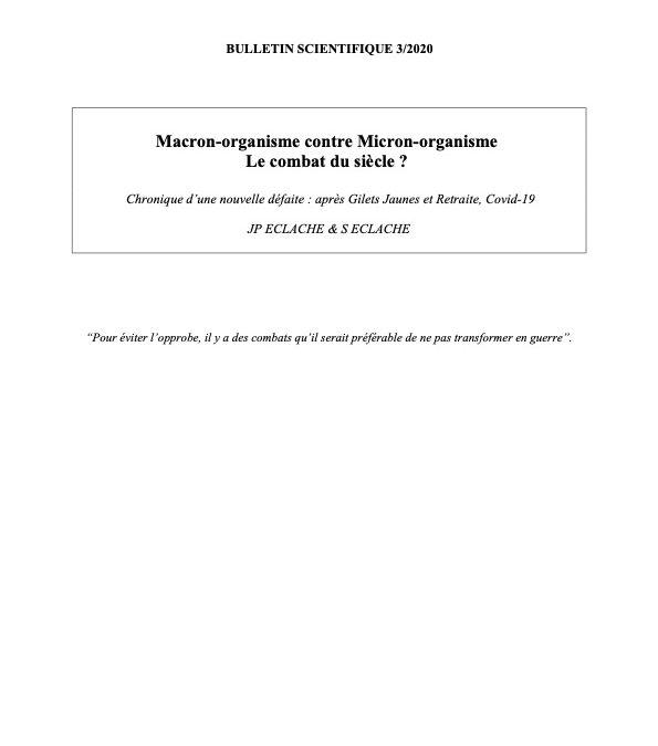 Macron-organisme contre Micron-organisme Le combat du siècle ?